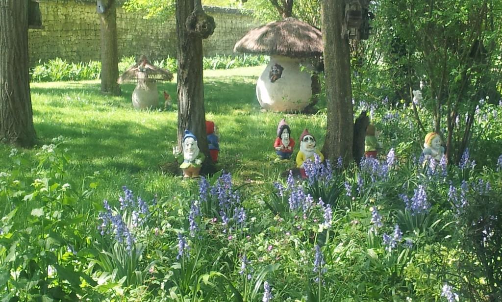 jardins du Rivau, blanche-neige