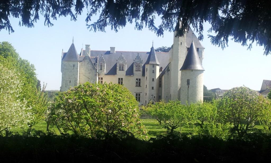 Château du Rivau vu du jardin