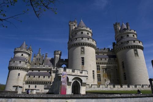 château de Pierrefonds dans l'Oise