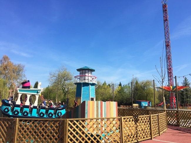 parc d'attraction Walibi Rhône-Alpes Dock'n Roll nouveautés 2018