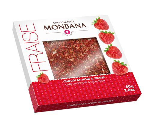 Tablette Noir Fraise Monbana