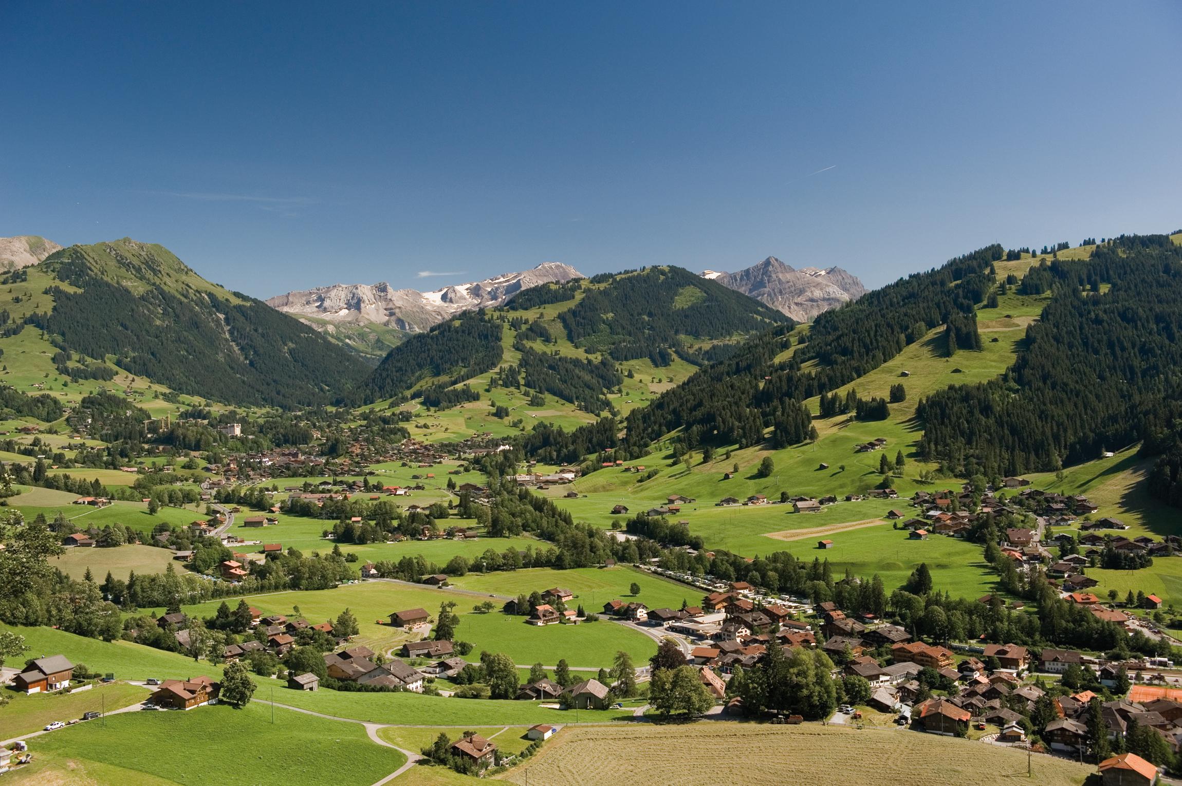 Vue de Gstaad