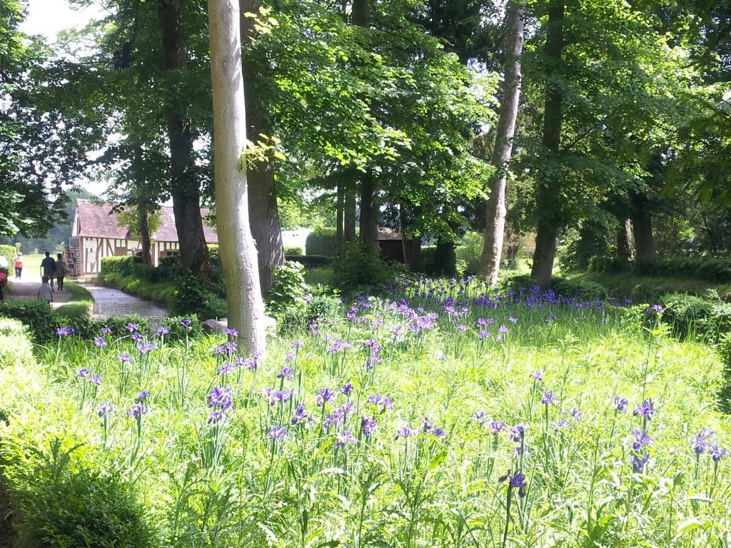 Parc du château de Chantilly, le Hameau