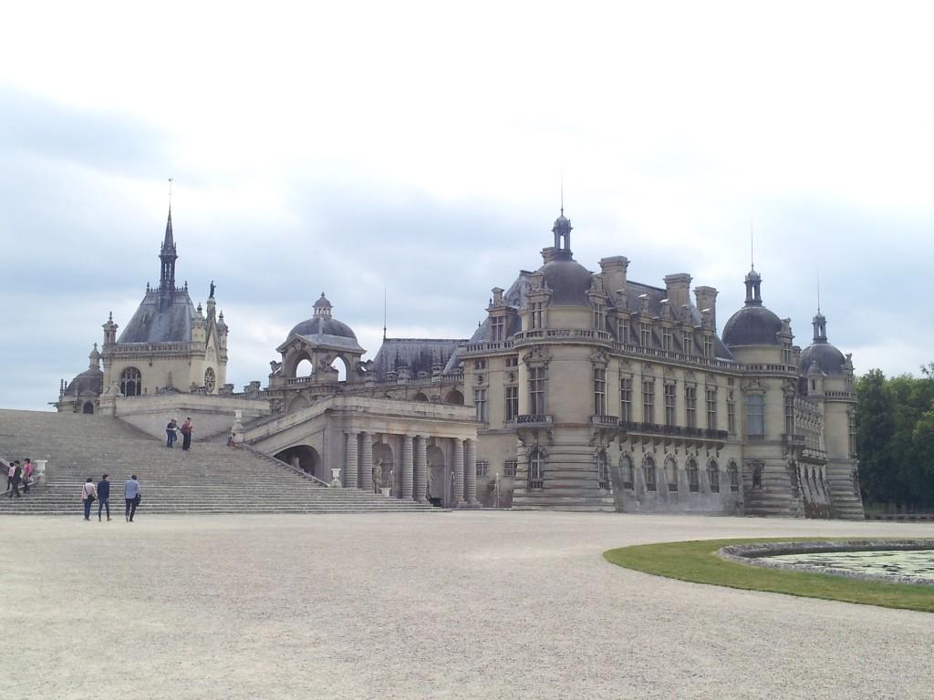 Château de Chantilly vue depuis les jardins