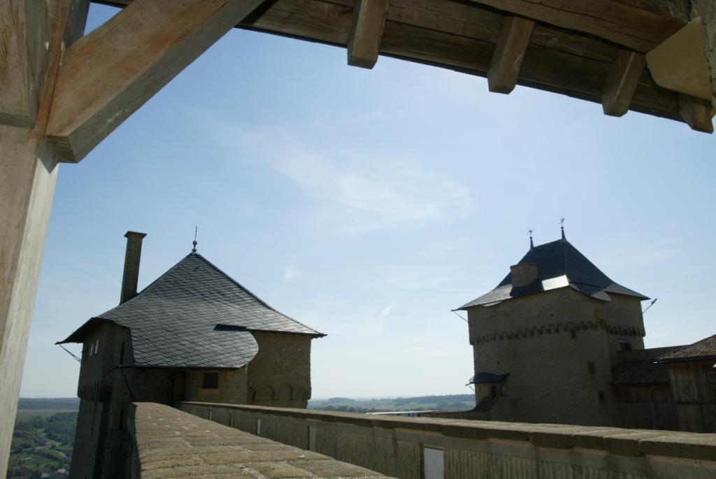Château de Malbrouck - Chemin de ronde