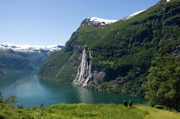 Vue du fjord depuis Geiranger