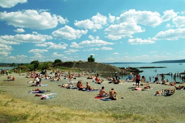 la Norvège en famille l'été