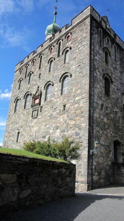 La tour Rosenkrantz à Bergen