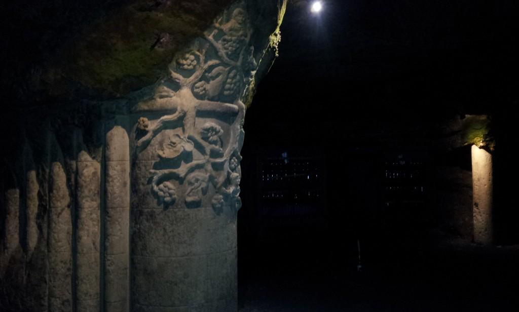 La cathédrale engloutie caves Bouvet-Ladubay
