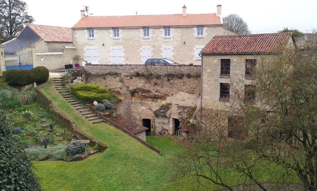 village troglo de Rochemenier