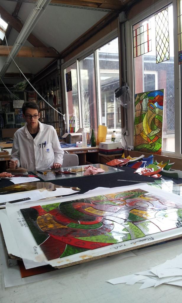 Ateliers Loire fabrication de vitraux