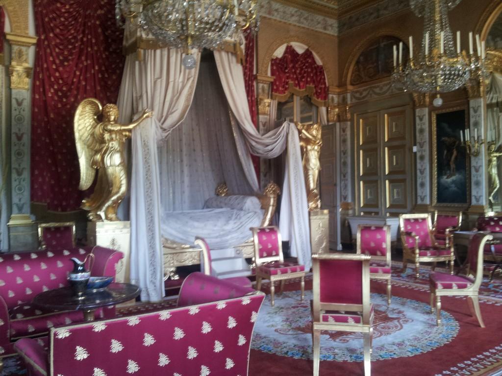 chambre de l'impératrice au Palais de Compiègne