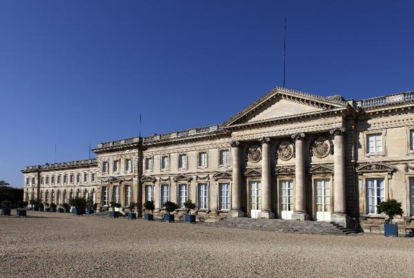 Façade du Palais impérial de Compiègne