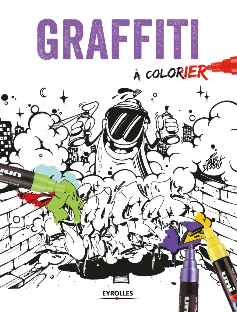 couverture Griffiti A Colorier