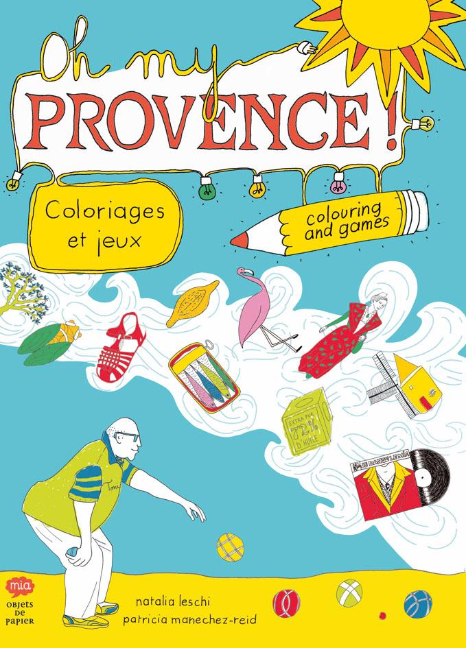 livre d'activités Oh My Provence