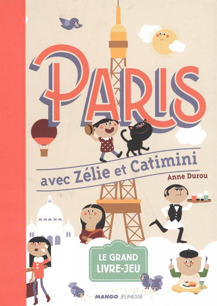 livre d'activités Paris avec Zélie et Catimini