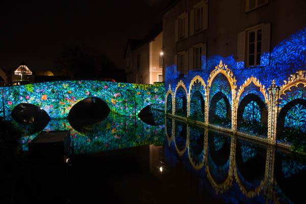 Ponts bords de l Eure-Credits Scénographie Enluminures-Photo M Guillon