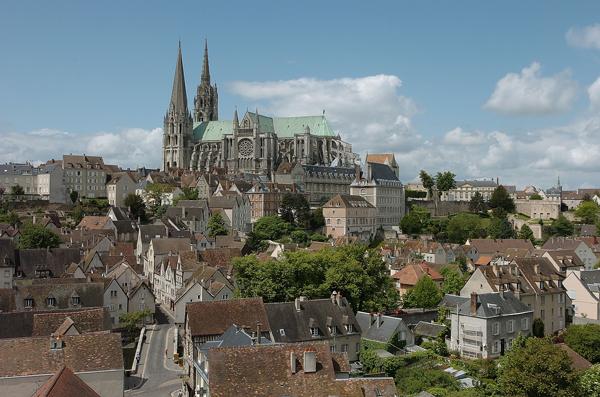 Vue generale Chartres - Ville de Chartres - Guillermo Osorio