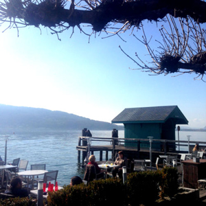 auberge du lac d'Annecy