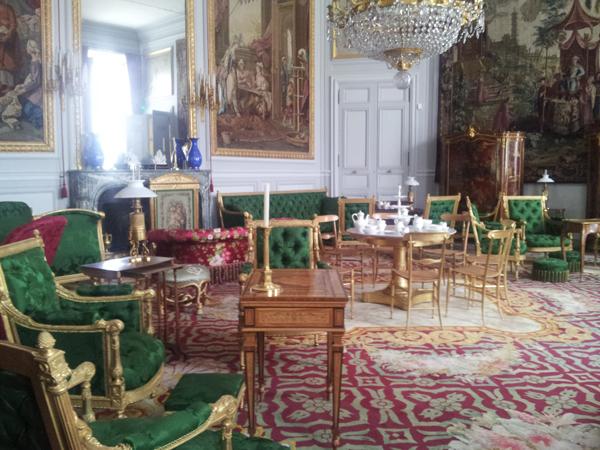 salon au palais de Compiegne