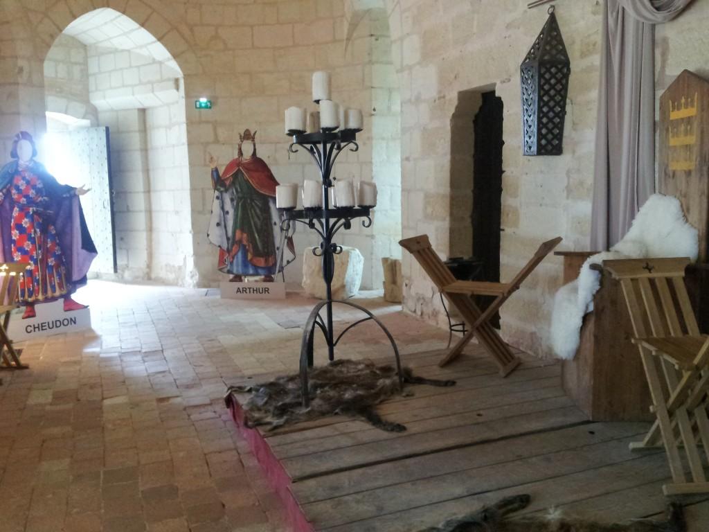 Parcours La légende d'Arthur à la forteresse de Chinon