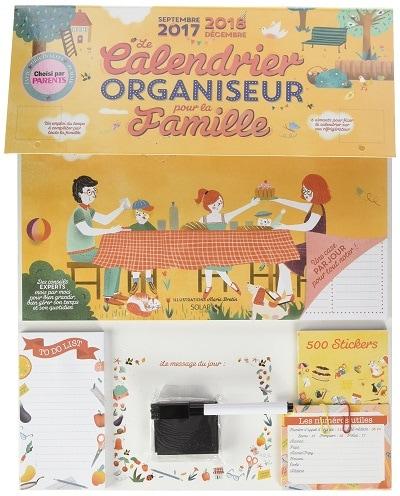 Le Calendrier Organiseur pour la Famille 2017-2018