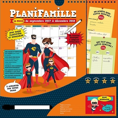 Planifamille 2017-2018