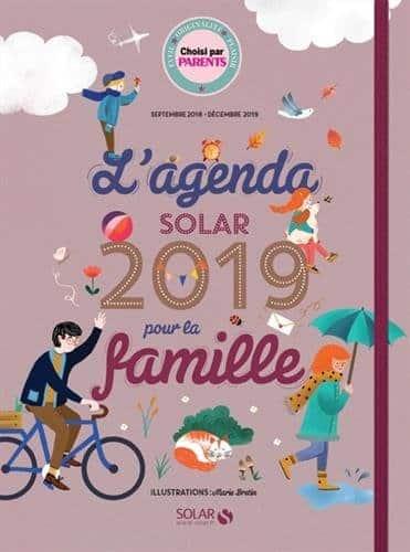 agenda pour la famille 2018-2019