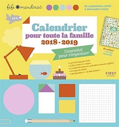 calendrier familial 2018-2019