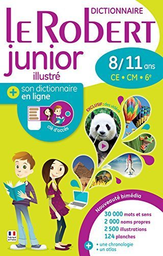 Dictionnaire Le Robert Junior 8/11 ans version bimédia