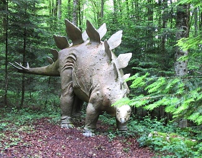 Dinosaure au Préhisto-Parc de Reclère
