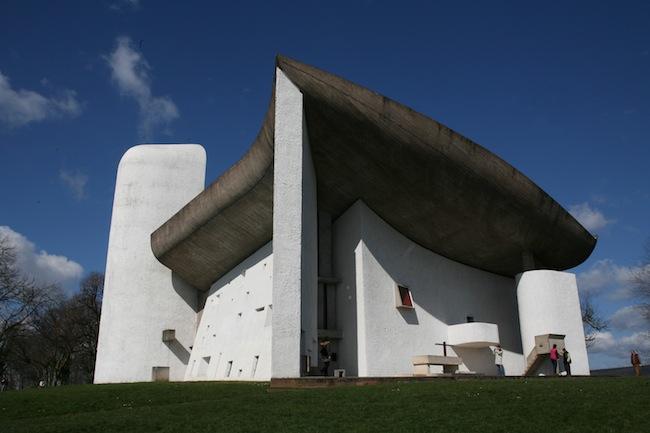 la chapelle Notre-Dame du Haut, Ronchamp