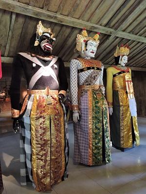 Musée des masques et marionnettes de Bali