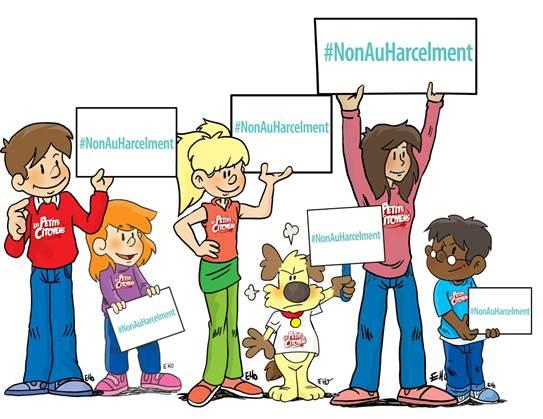 lutte contre le harcèlement scolaire Les petits citoyens
