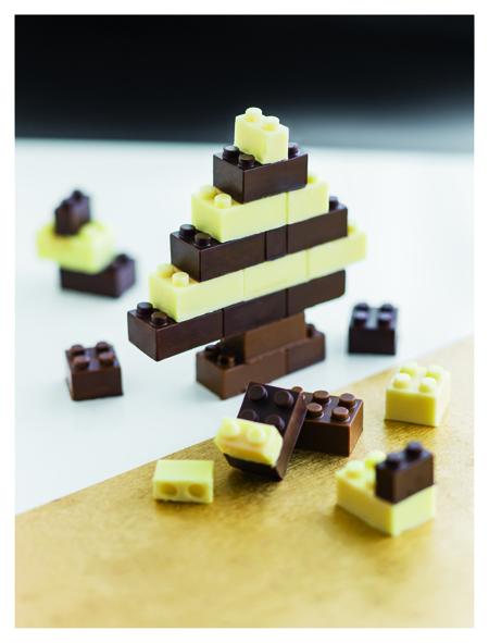 Sapin en Choco Brick de Kitchen Trotter