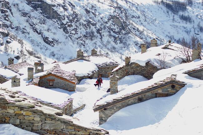 Ecot de Bonneval sur arc le village de Belle et Sebastien - Haute Maurienne Vanoise (PC) (2)