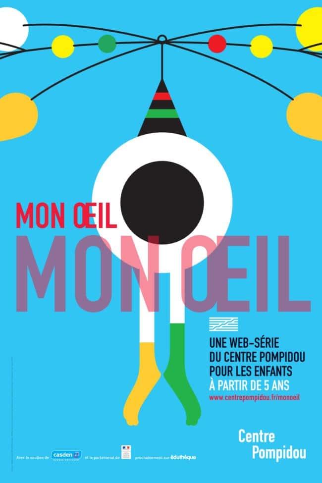 Mon Oeil web série enfants Centre Pompidou