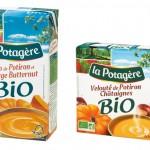 Soupes en briques bio saveurs automne-hiver La Potagère