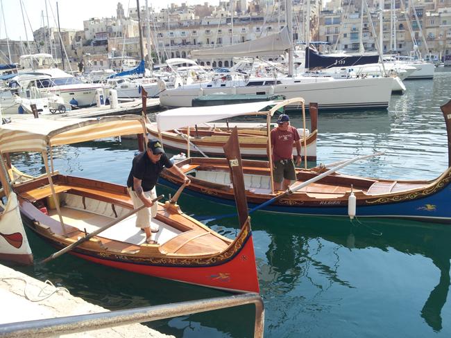 Birgu_bateau_taxi_grand_port_la_valette