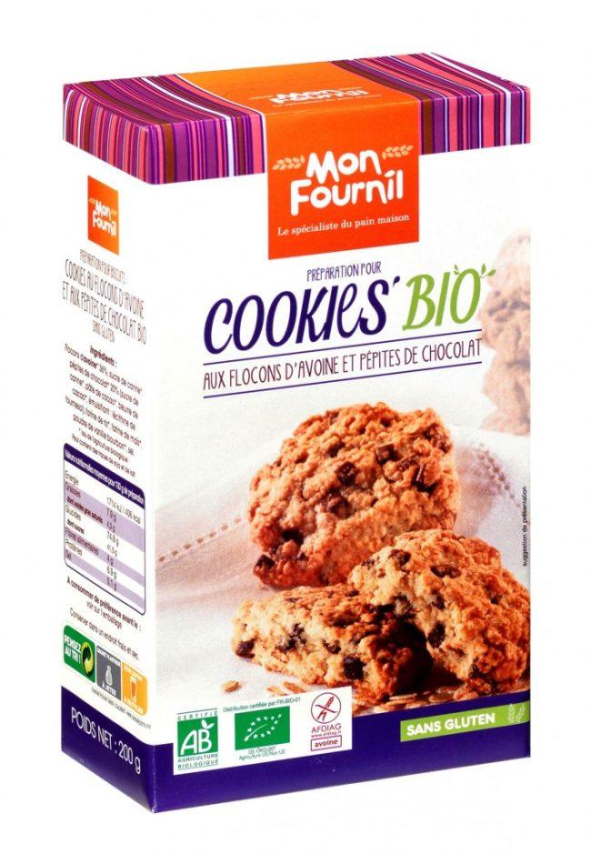 préparation pour cookies bio Mon Fournil avis