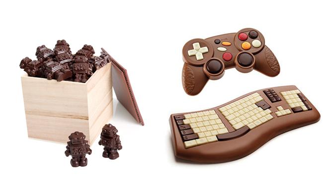 Dlys_robots_clavier_console_chocolat