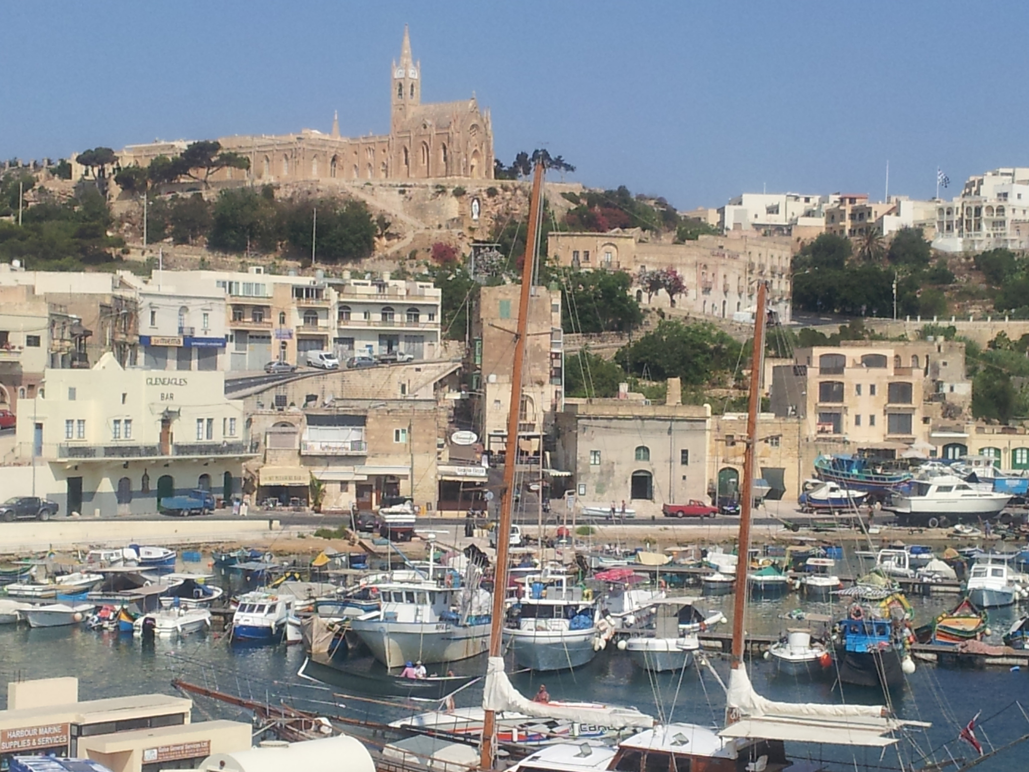 Gozo_port_de_Mjarr