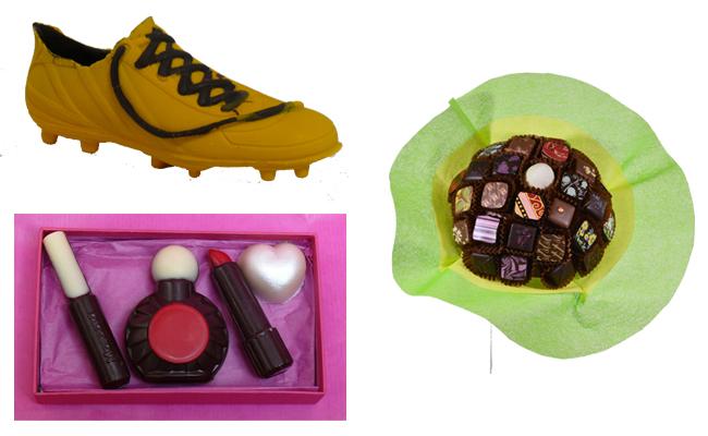 Hors_des_sentiers_battus_chaussure_maquillage_bouquet_chocolat