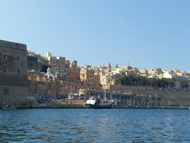 Malte_La_Valette_vue_depuis_Grand_Port