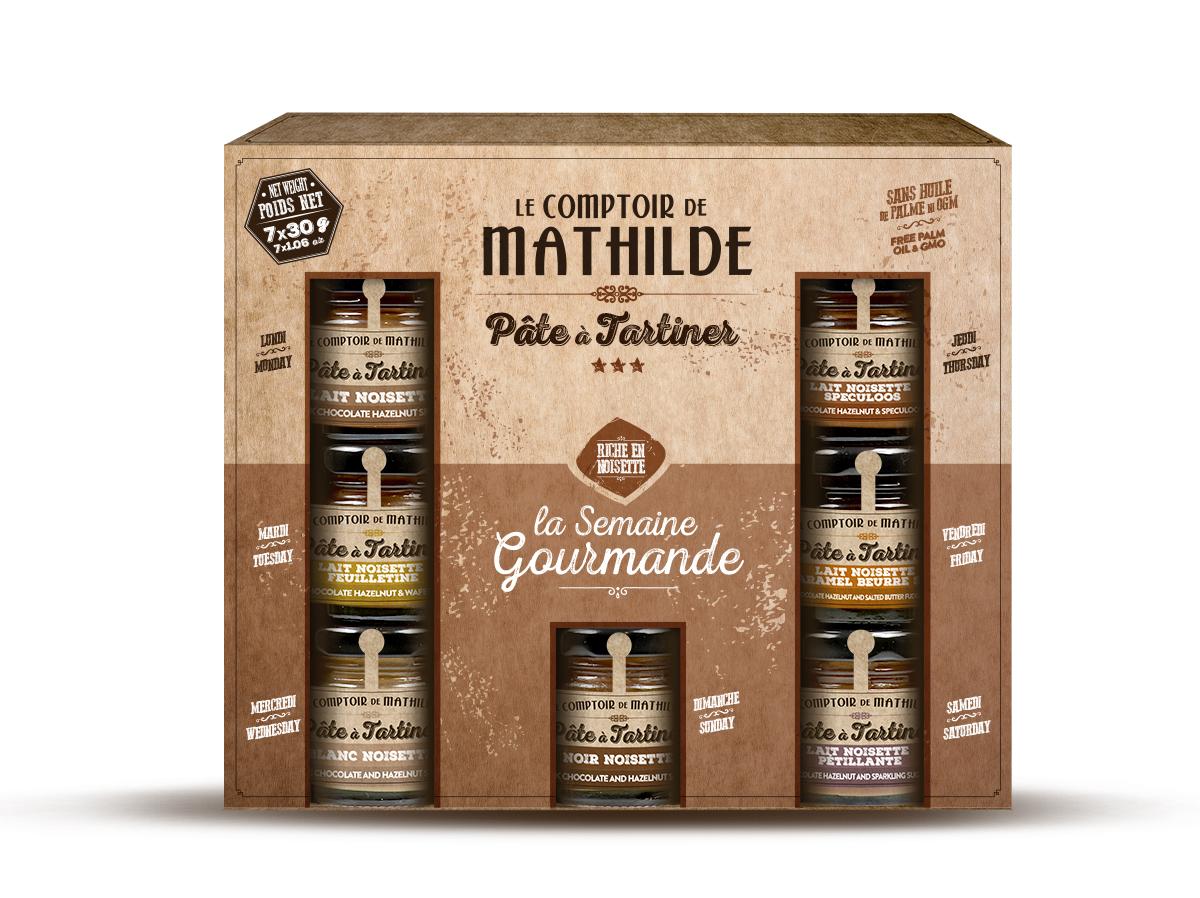 P tes tartiner le semainier du comptoir de mathilde - Pate a tartiner le comptoir de mathilde ...
