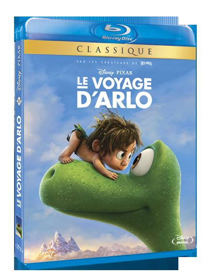 3D BD LE VOYAGE D'ARLO