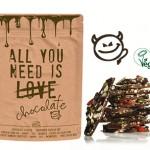 Les chocolats cassés bio CHOC, LOVE et DARK de Belvas