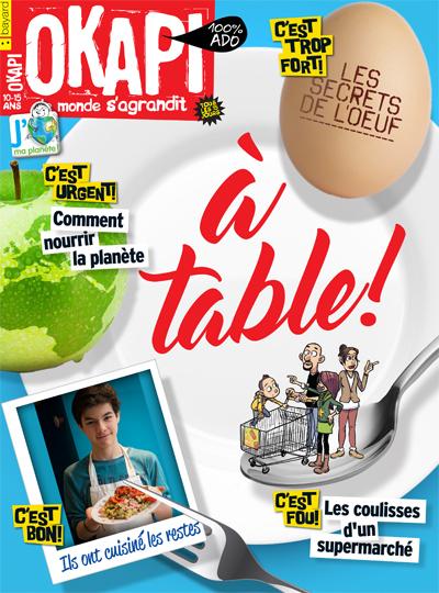 couverture Okapi spécial alimentation avril 2016