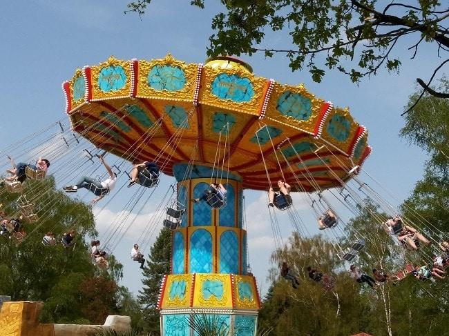 attraction El Condor, nouveauté 2018 de la Mer de Sable