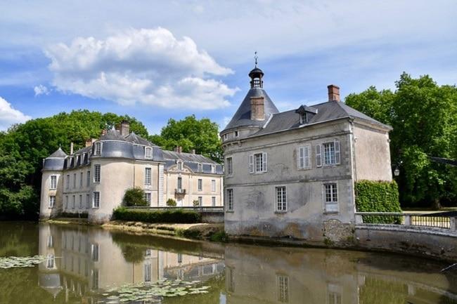 Château de Malicorne dans la Sarthe